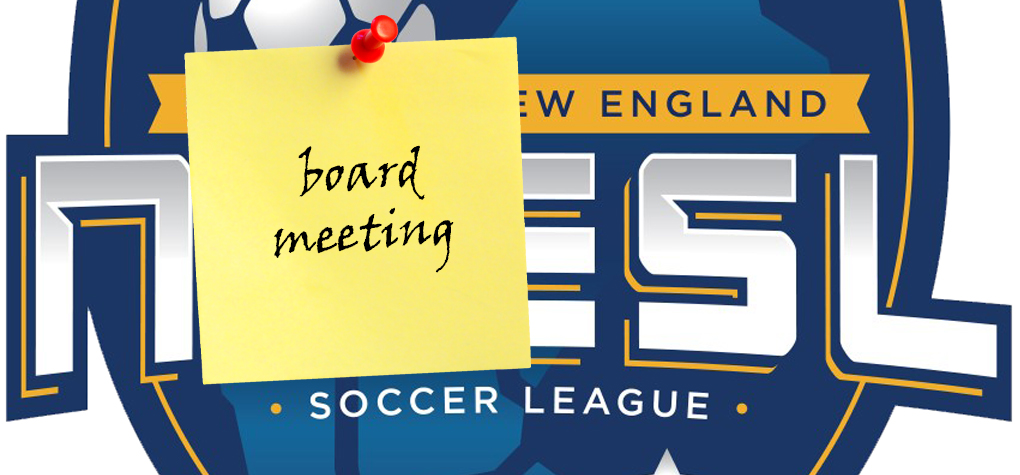 NNESL Board Meeting – January 23rd 7:00 PM Epping Indoor (upstairs conference rm)